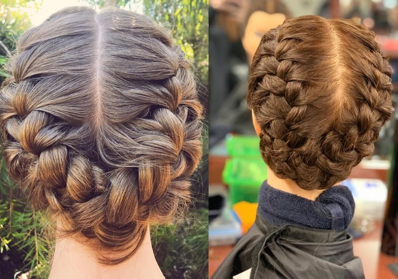 braided crown hairstyles for girls