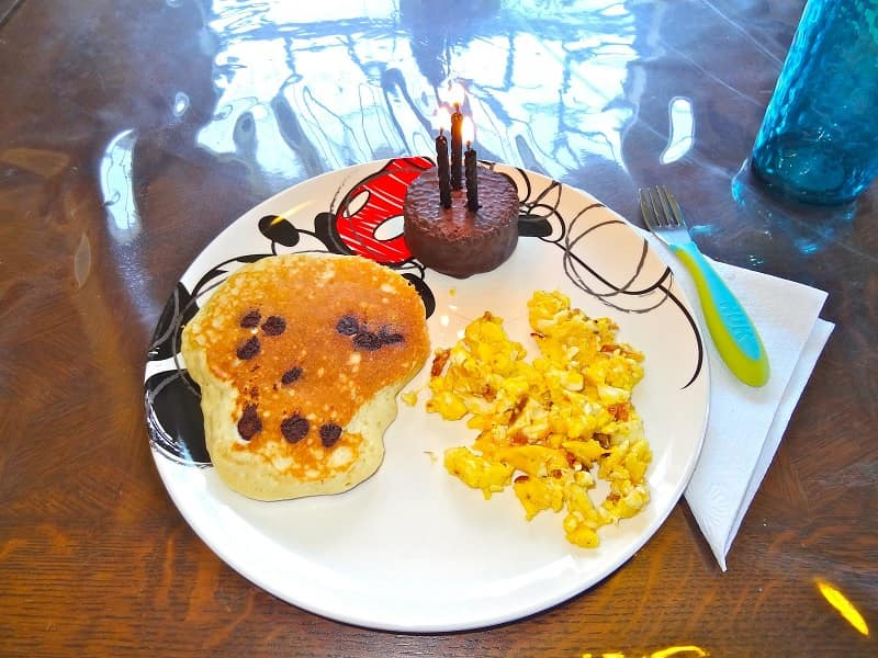 birthday breakfast for your son's 10th Birthday