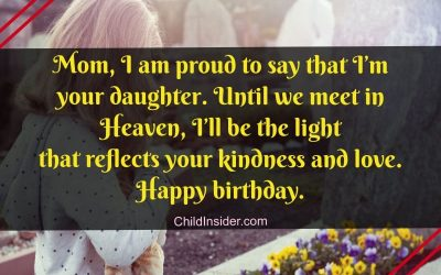 happy birthday in heaven mom quotes