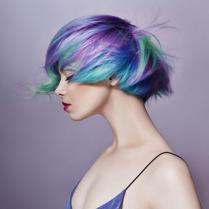 colorful hipster haircuts for girls