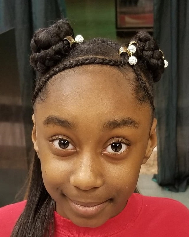 10 Most Gorgeous Bun Hairstyles For Little Black Girls