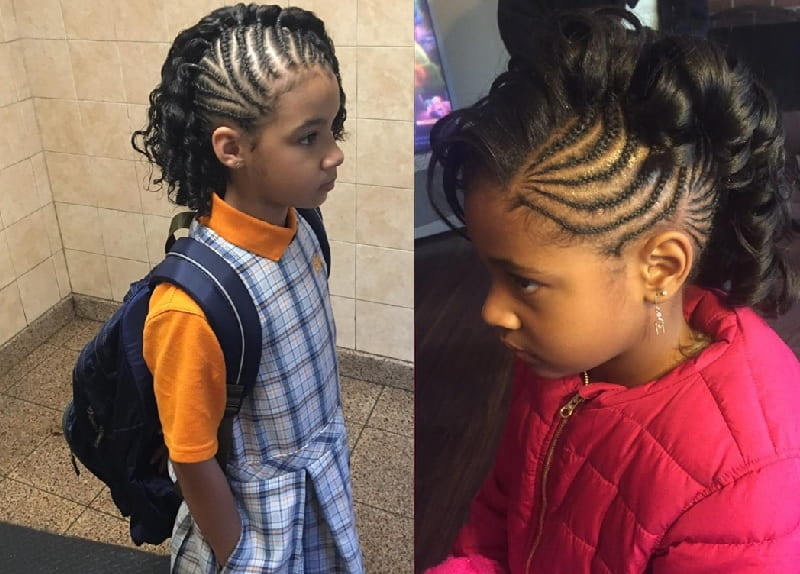 11 Awesome Mohawk Styles For Little Girls To Copy This Year