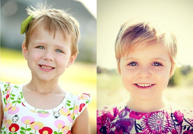 21 Adorable Short Haircuts For Little Girls [2019]