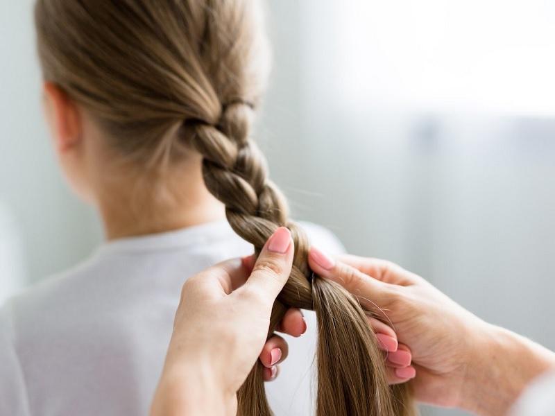 how to do little girls braids