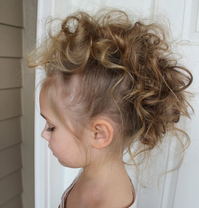 mohawk hairstyles for little girls