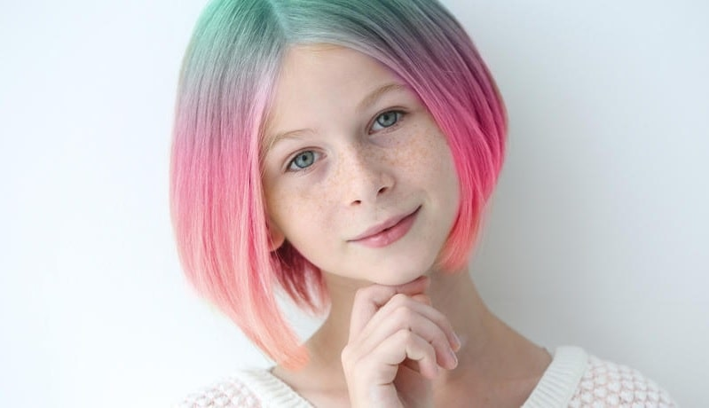 short ombre hairstyles for teenager girls