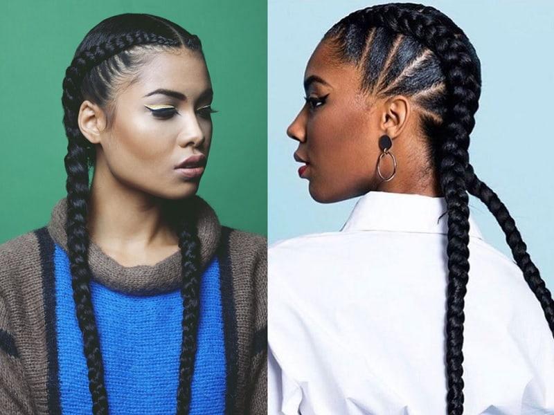 cornrow for black girls