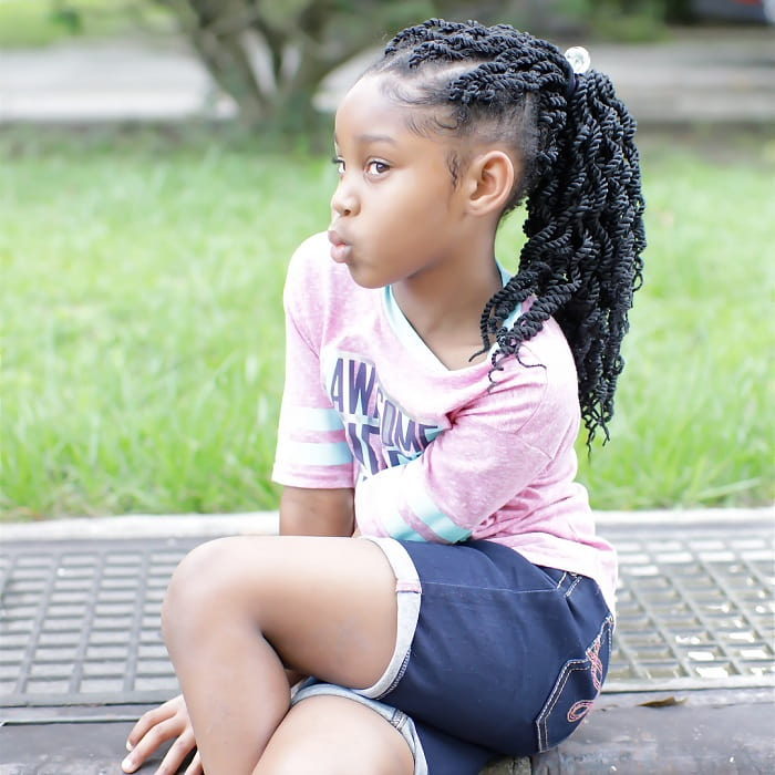 11 Amazing Hairstyles For Little Black Girls With Curly Hair