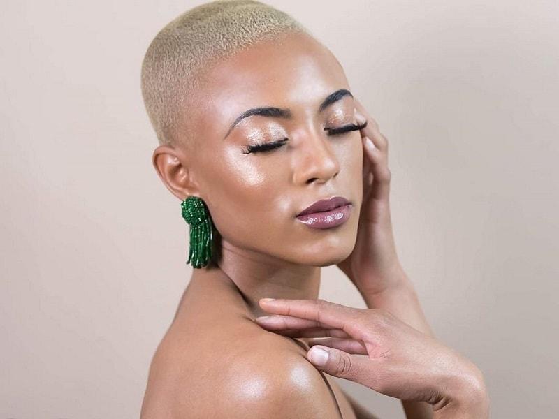 buzz cut for black girls