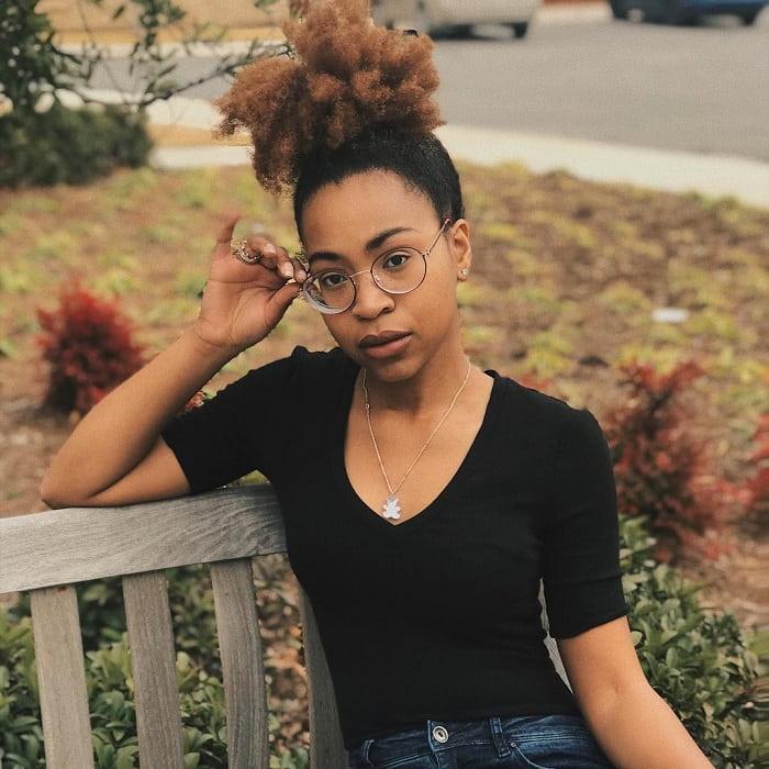 updo for black girl