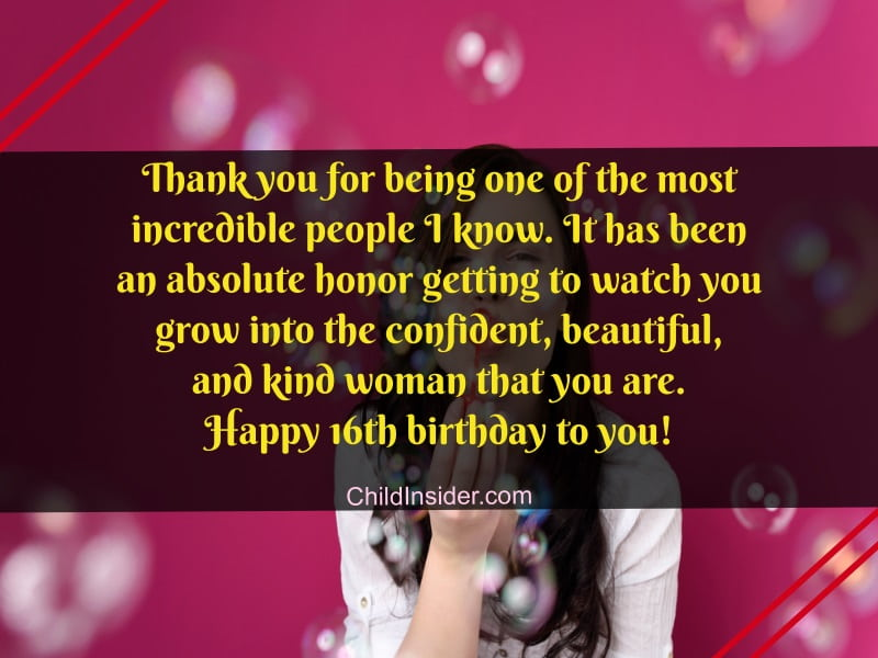 16th birthday quotes for girl