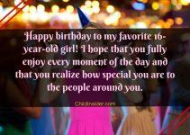 happy 16th birthday girl