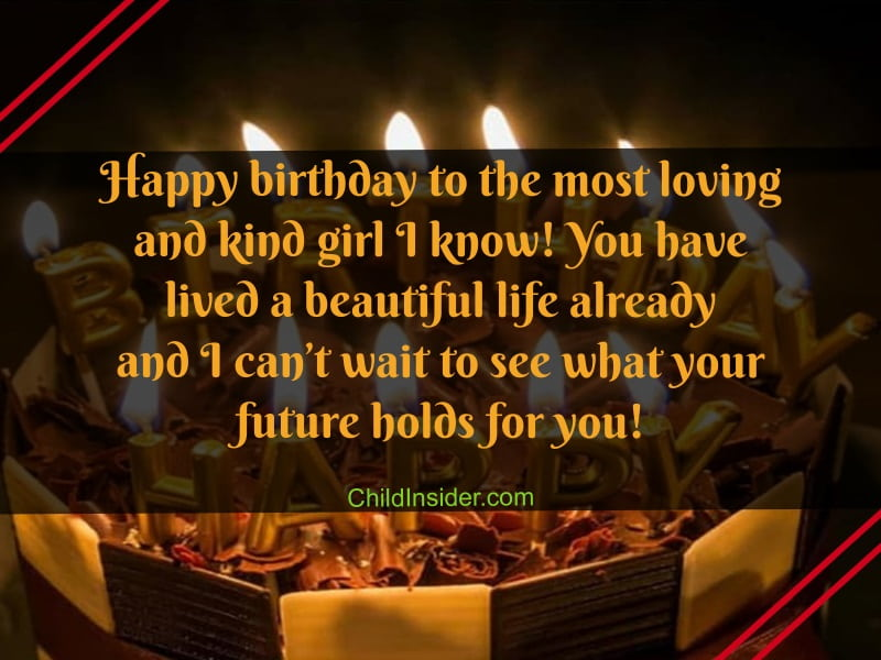 16th birthday message for girl