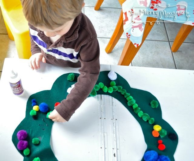 indoor activities for toddlers with craft felt