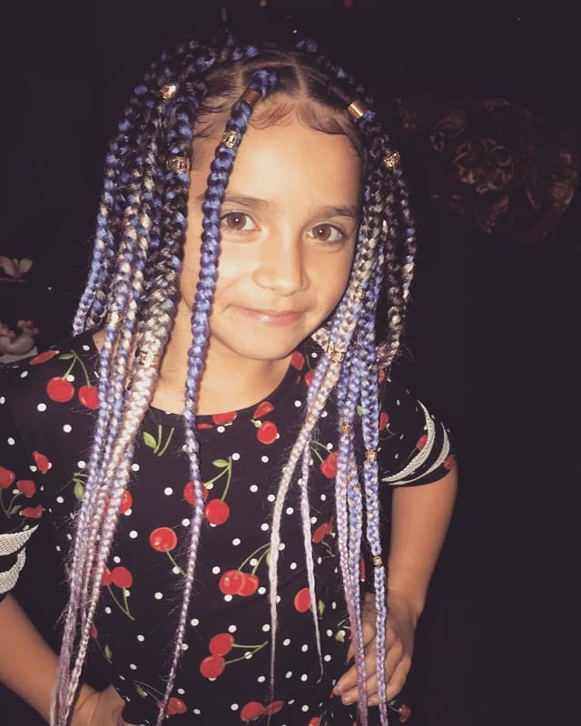 15 Lovely Box Braids Hairstyles For Little Girls To Rock