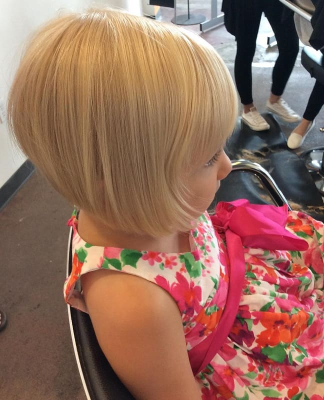 stacked bob haircuts for little girls