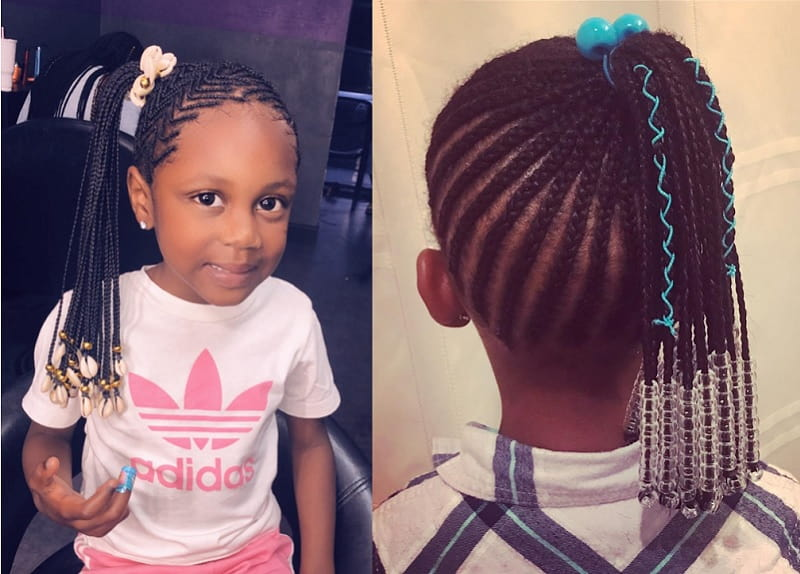 Fine 15 Beautiful Hairstyles With Beads For Little Girls 2020 Schematic Wiring Diagrams Amerangerunnerswayorg