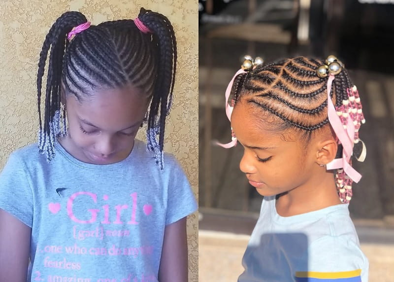 15 Beautiful Hairstyles with Beads for Little Girls [2019]