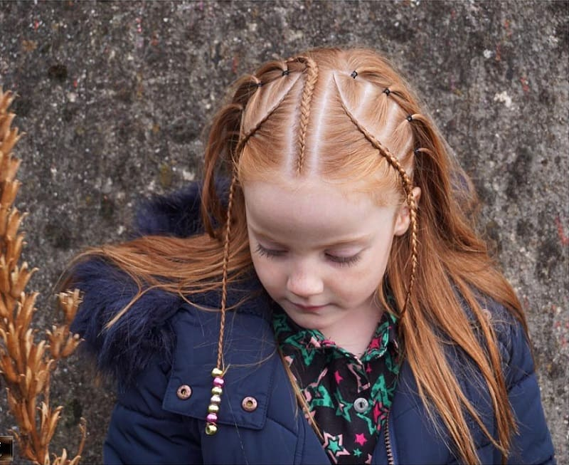 bead hairstyles for little girls