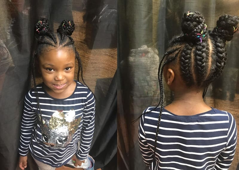Little Girl Updos 25 Flattering Looks For Any Special Event