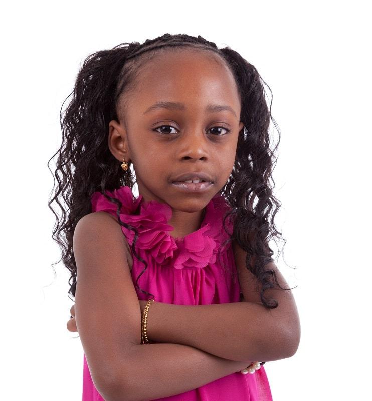 pigtails for black little girls