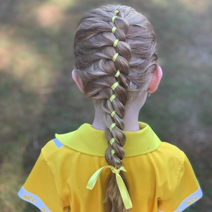 cute twist hairstyles for little girls