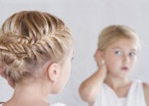 little girl updo hairstyles