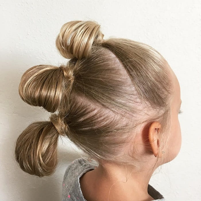 updos for little girls