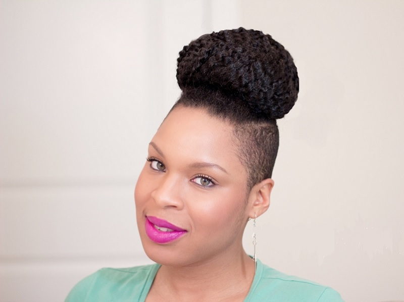 best black girl bun hairstyles