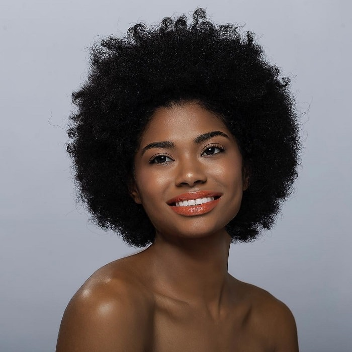 short afro hair for black girls