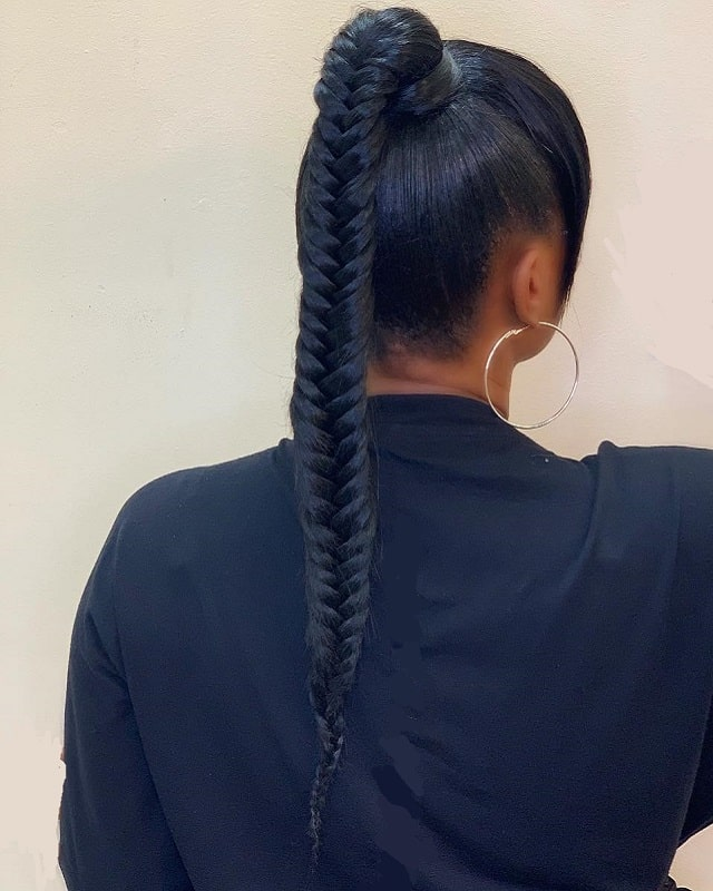 15 Ponytail Hairstyles For Black Girls That Are So Striking-2473