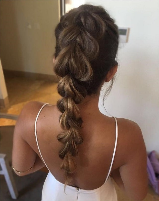 ponytail hairstyles for black girls