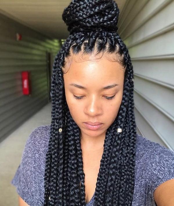15 Black Girl Bun Hairstyles That Are So Irresistible