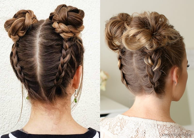 Girls Bun: 15 Fascinating Hairstyles You\'ll Love Instantly
