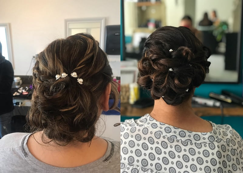bun hairstyles for girls