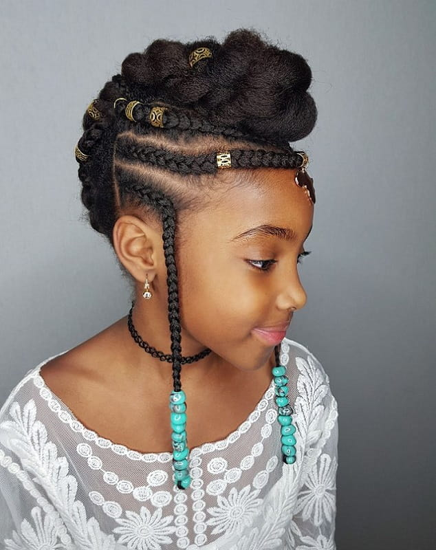15 Glam Hairstyles for 10 Year Old Black Girls (2019 Guide)