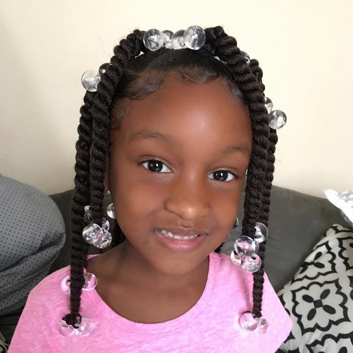 21 Best Little Black Girl Hairstyles For School 2020 Trends