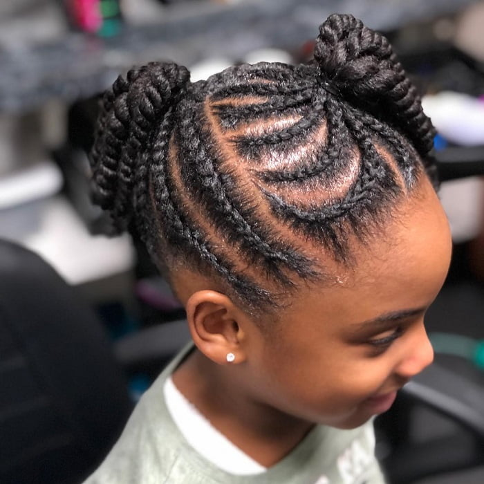 Top 21 Little Black Girls Hairstyles For School Child Insider