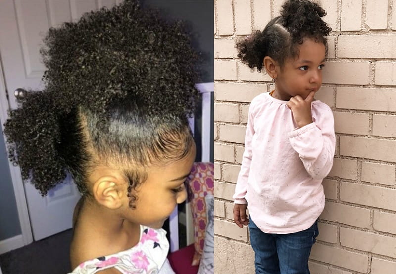 21 Charming Curly Hairstyles For Your Little Princess