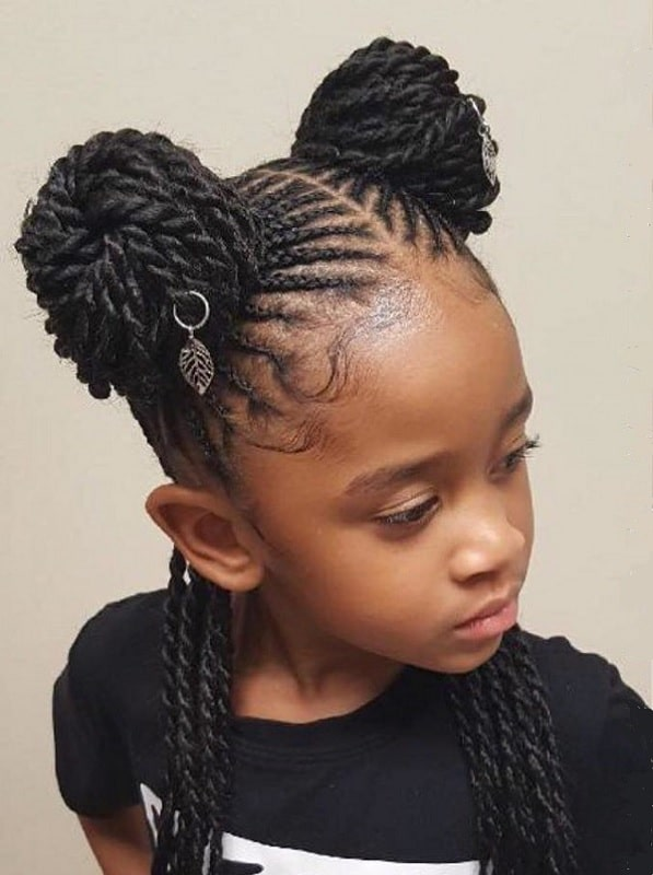 10 Ideal Weave Hairstyles For Kids To Try In 2020