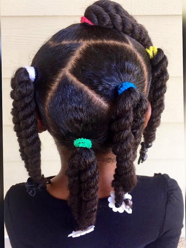 weave hairstyles for little girls