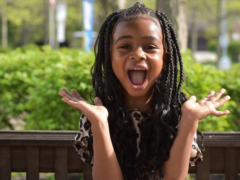 10 Adorable Weave Hairstyles For Little Girls To Explore