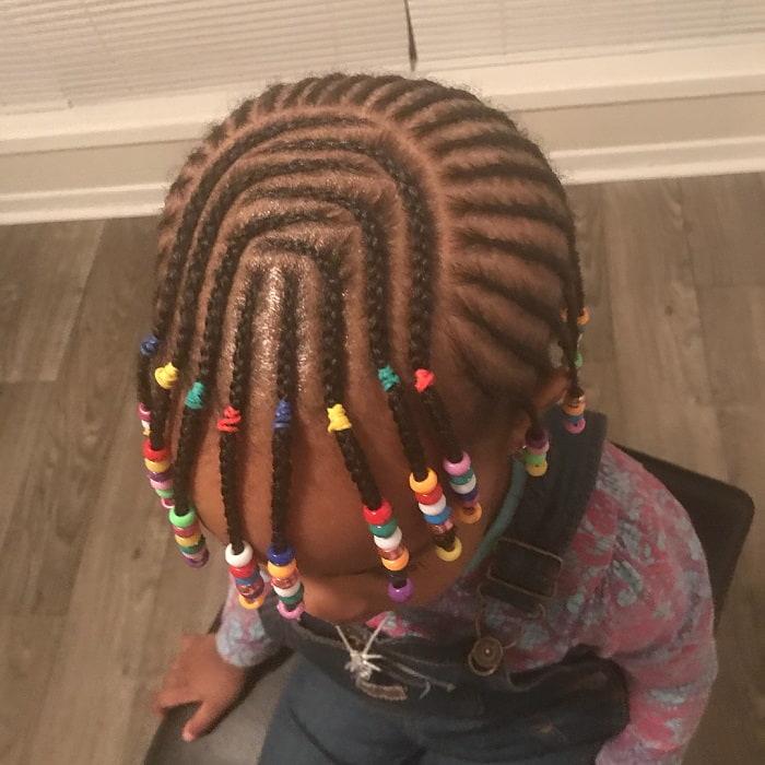 21 Sweet Cornrow Hairstyles That Little Girls Love