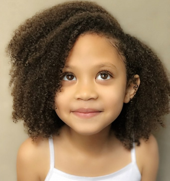 Hairstyles For Girls With Mixed Hair: 21 Cute Hairstyles For Mixed Little Girls We've Found This