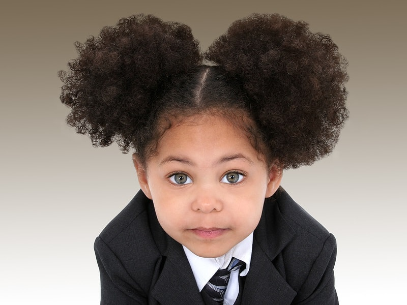 21 Cute Hairstyles For Mixed Little Girls We've Found This