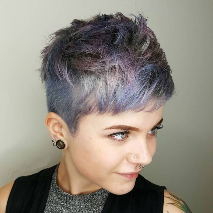 messy pixie hairstyles for girls