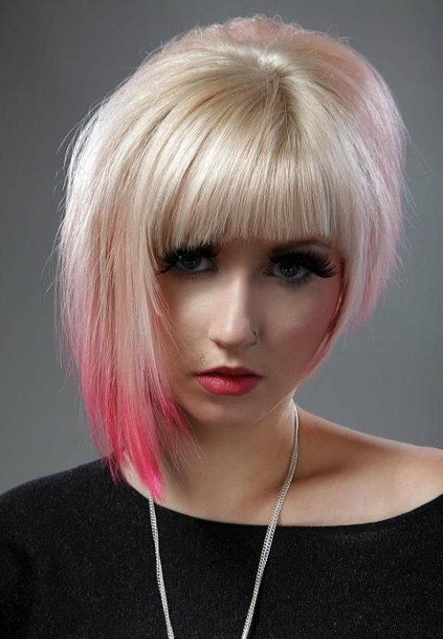 asymmetrical pixie for girls