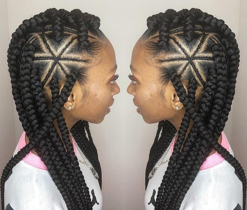 cute braided hairstyles for black girls