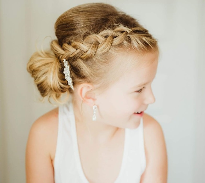 Wedding Hairstyles Girl: 25 Stunning Hairstyles For Little Girls To Rock At Weddings