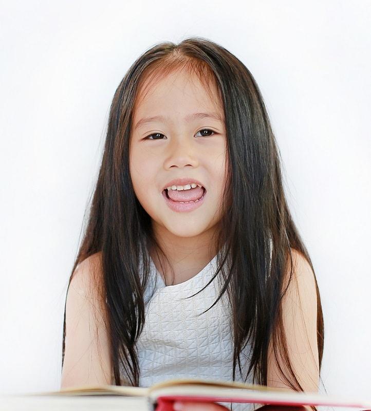layered haircut for Asian little girls
